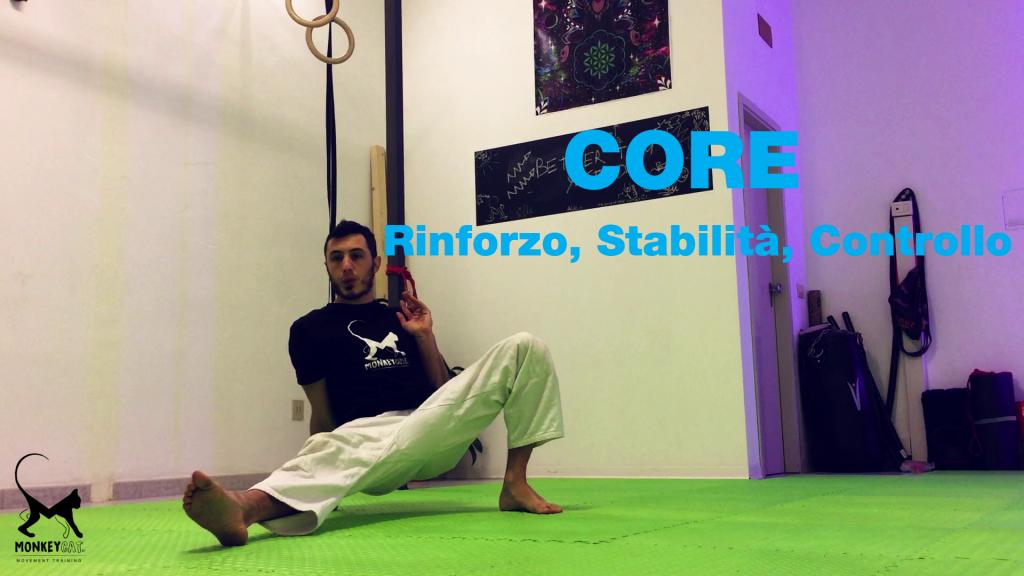 Allenamento Core rinforzo stabilità mobilità