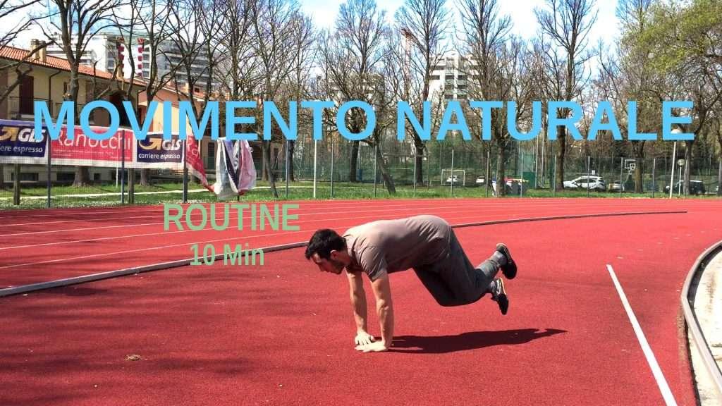 allenamento movimento naturale