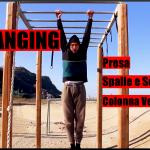 Hanging - Rinforzare la presa, stabilità scapole, decompressione spina dorsale